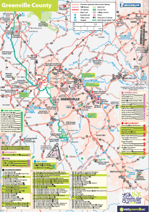 Maps VisitGreenvilleSC Official Travel Source