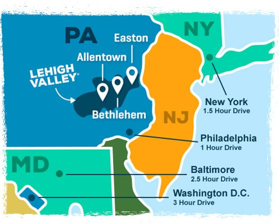 Lehigh Valley Hotels Events Things to Do Vacation Planning