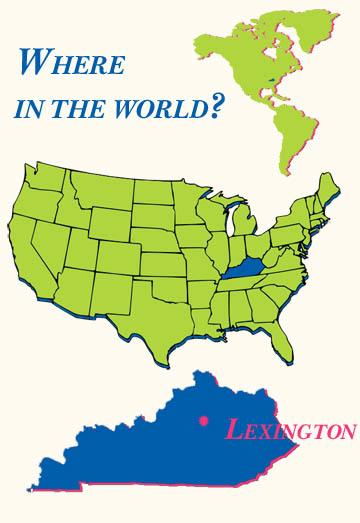 Travel to Lexington KY Maps and Directions