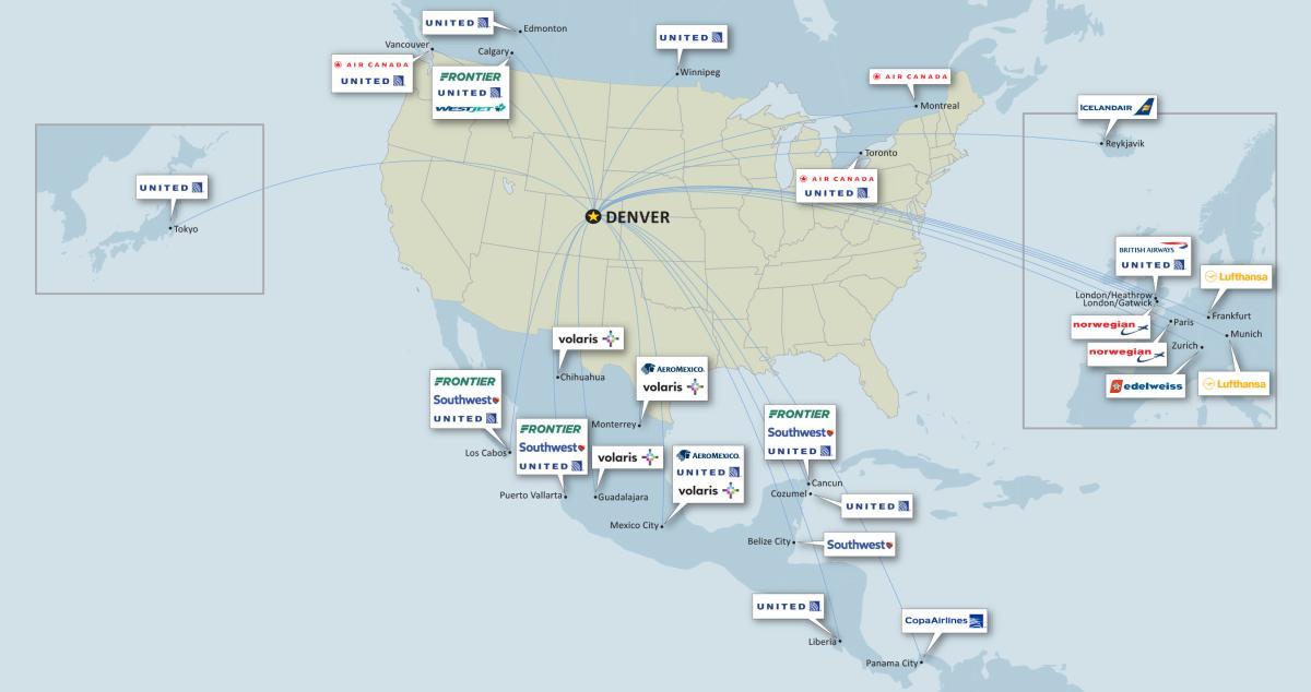 Denver Airport Information Transportation VISIT DENVER