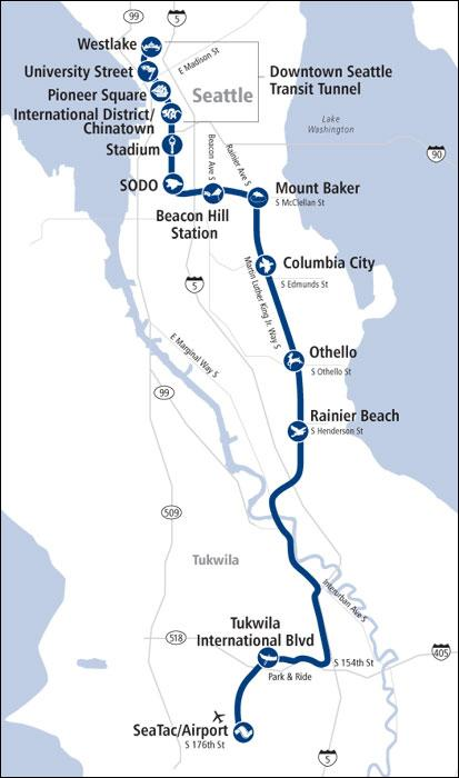 Plan Your Trip Getting To and Around Rail Link Light Rail