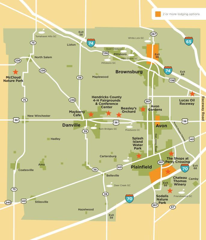 Maps Directions Visit Hendricks County