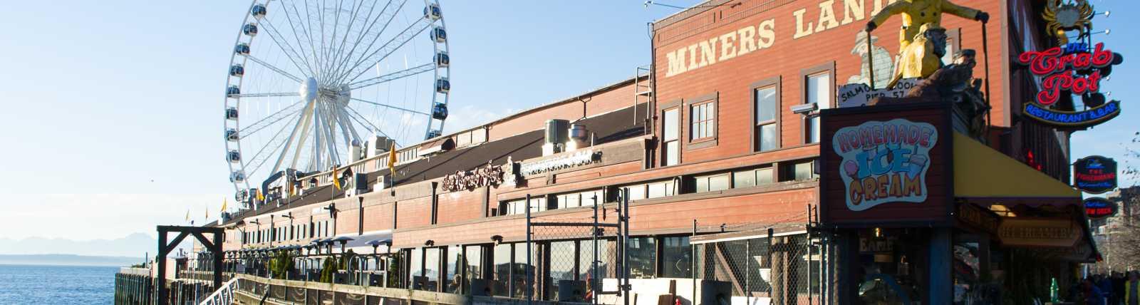 Miners Landing Pier 57