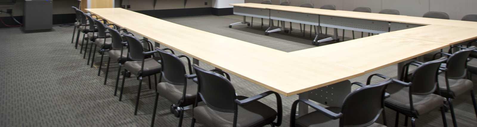 Beijing Conference Room in a U-shape