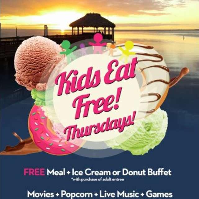 Kids Eat Free Thursdays at Beach!
