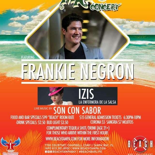 Cinco De Mayo Concert with Frankie Negron