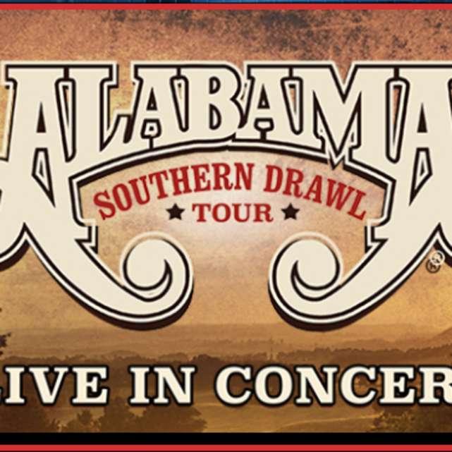 "Alabama ""Southern Drawl Tour 2017 with Charlie Daniels Band"