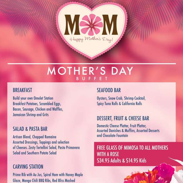 Mother's Day Brunch at Beach