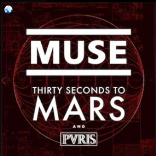 Muse with 30 Seconds to Mars