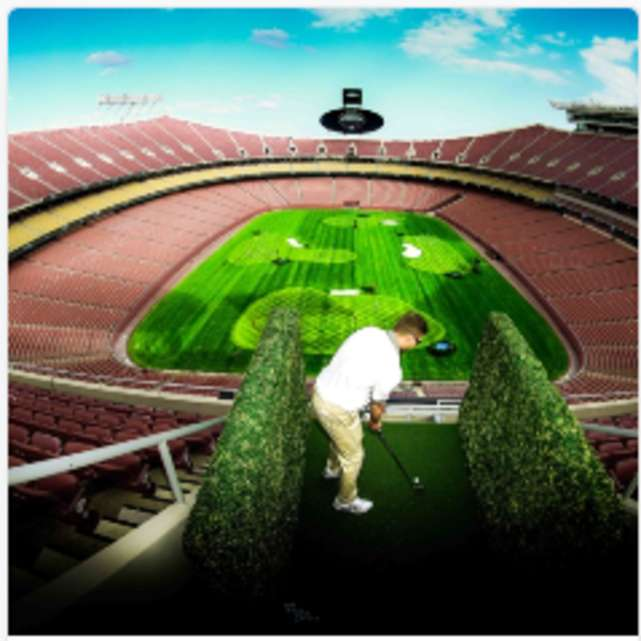 Stadiumlinks Golf Tampa - PLAY FROM THE UPPER DECK