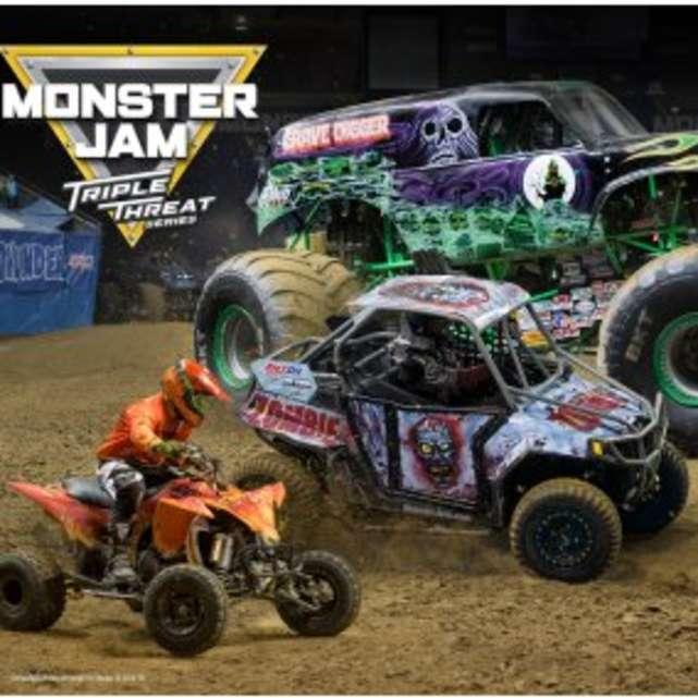 Monster Jam Triple Threat