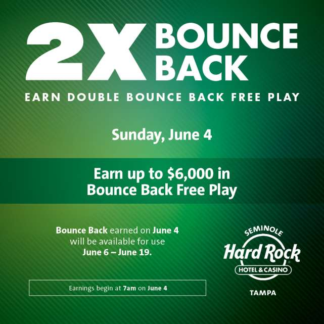 2X Bounce Back Free Play
