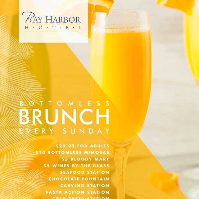 Bottomless Brunch on the Bay