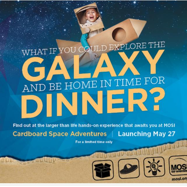 Cardboard Space Adventures