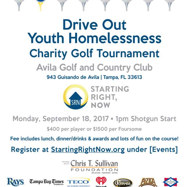 Drive Out Youth Homelessness Golf Tournament