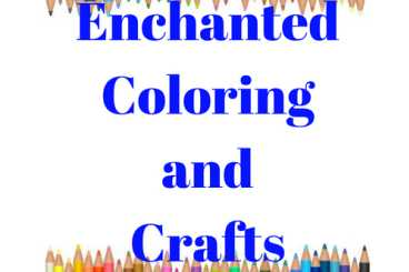 Enchanted Coloring and Crafts