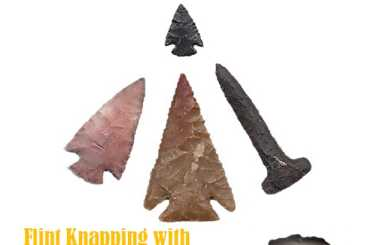 Cultural Demonstrator: Flintknapping with Archaeologist Ron Fields