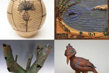 """""""Resonations in Clay-Life in the Bosque"""""""