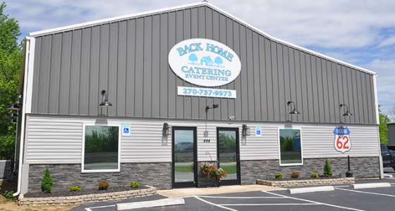 Back Home Catering and Room 62 Event Center