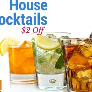House Cocktails $2 off