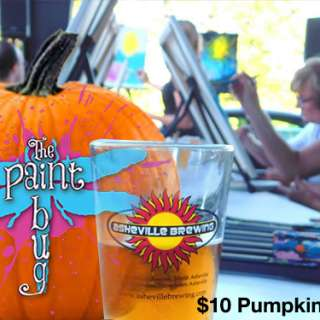 Come Paint Pumpkins at Asheville Brewing Co!