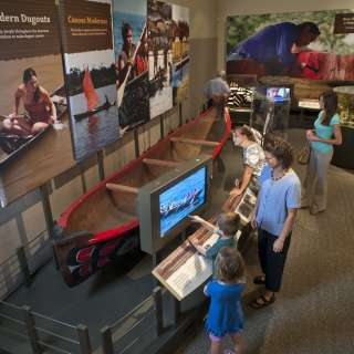 Dugout Canoes: Paddling through the Americas Exhibit
