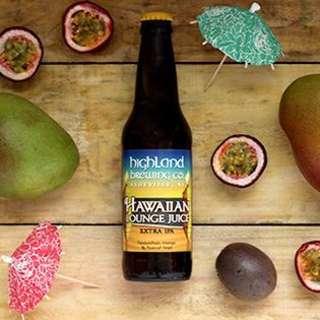 Hawaiian Lounge Juice Release Party
