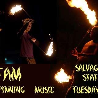 Fire Jam - Live Fire Performances featuring DJs, Producers and Livetronica