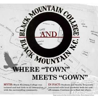 "Black Mountain College and Black Mountain, NC: Where ""Town"" Meets ""Gown"" Exhibit"