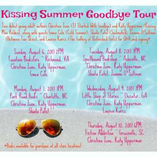 'Kissing the Summer Goodbye Tour' with Four YA Authors