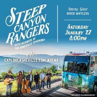 Steep Canyon Rangers w/members of The Asheville Symphony // special guest River Whyless