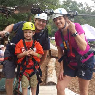 Giving Back on GREEN Friday with Ziplines/Adventure Park