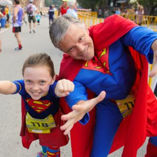 Asheville Running Experience - Asheville Brewing Super Hero 5K & Fun Run