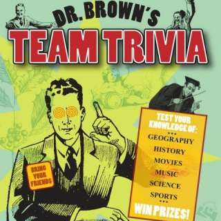 Dr. Brown's Team Trivia @ Barley's Taproom