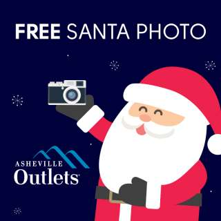 FREE Santa Photos at Asheville Outlets