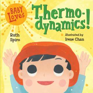 Author Ruth Spiro with Baby Loves Science Board Books
