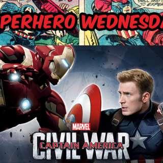 Superhero Wednesday - Free Screening of Captain America: Civil War