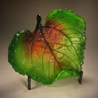 The Making of a Glass Leaf