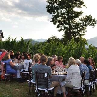 Cena Italiana Nella Vigna Wine Dinner Featuring Strada Italiano