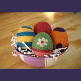 Needle Felted Easter Eggs Workshop