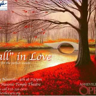 """""""Fall"""" in Love: The Perfect Season (A Concert by Asheville Lyric Opera)"""