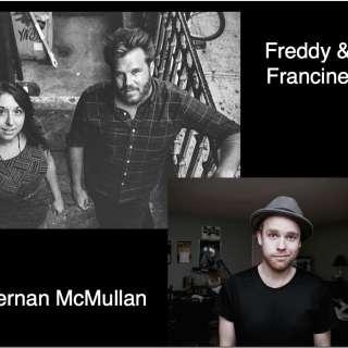 Freddy and Francine with Kiernan McMullan