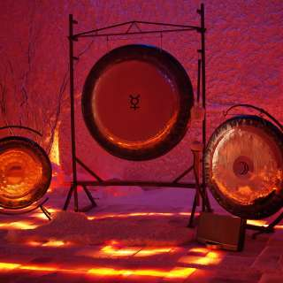 Gong Meditation and Salt Therapy at The Salt Spa of Asheville & Himalayan Salt Cave