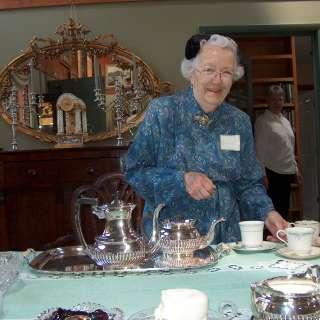 Appalachian Spring Tea with Harriet
