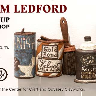 Ceramics Workshop with Adam Ledford