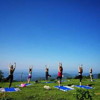 Yoga on the Mountain Picnic