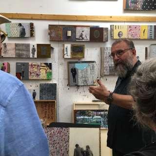 Art Tour - half-day to private studios