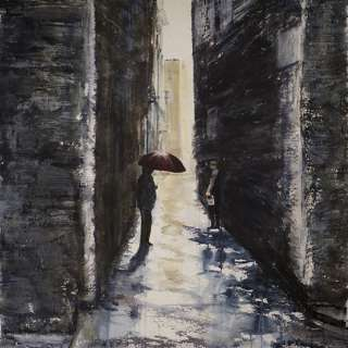 Don't Be Afraid of the Dark- Watercolor with Nadine Charlsen, Sep 22