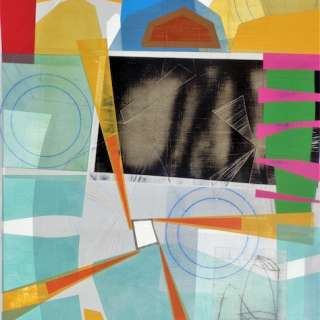 Abstract Painting and Sculpture Exhibition of Three Artists at Momentum Gallery