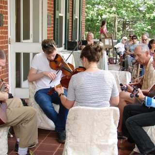 Jamming at the Museum: Front Porch Old-Time Jam and Lawn Party